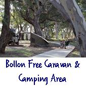 Bollon free caravan and camping area
