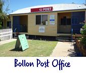 Bollon post office