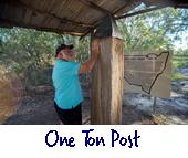 One Ton Post