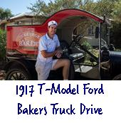 T model ford bakers truck drive